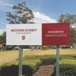 WCU Sign - Mulgoa Sanctuary